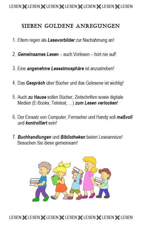 7 goldene Anregungen