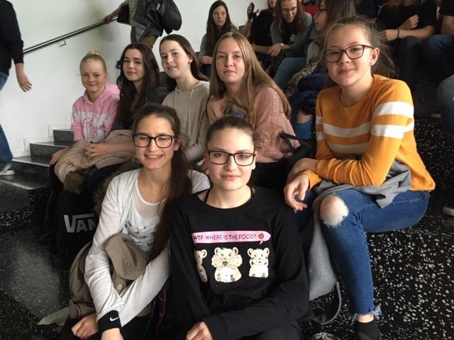Unsere Teilnehmer aus den 4. Klassen